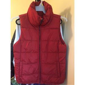 Old Navy Burnt Orange Puffer Vest